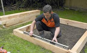 How To Build Raised Garden Bed Pt2
