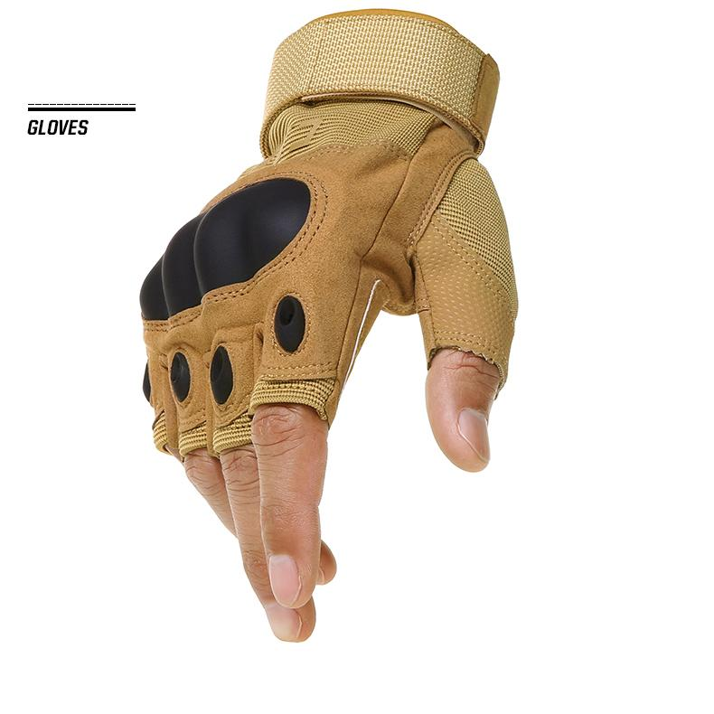 Bodybuilding Glove - Glove | Tactical Military Fingerless Glove
