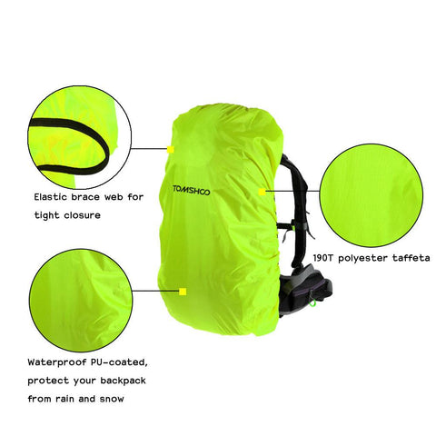 Climbing Bags - Bag | 40L - 50L Outdoor Backpack Rain Cover