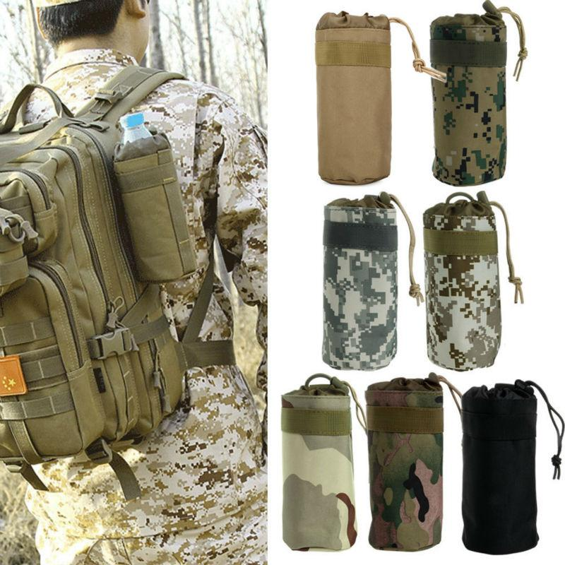 Climbing Bags - Water Bottles | Outdoor Water Bottle Pouch Holder | Military Tactical Gear