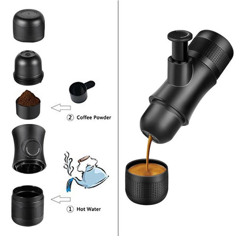 Coffee Makers - Coffee | The Best Ever Minipresso Portable Coffee Maker