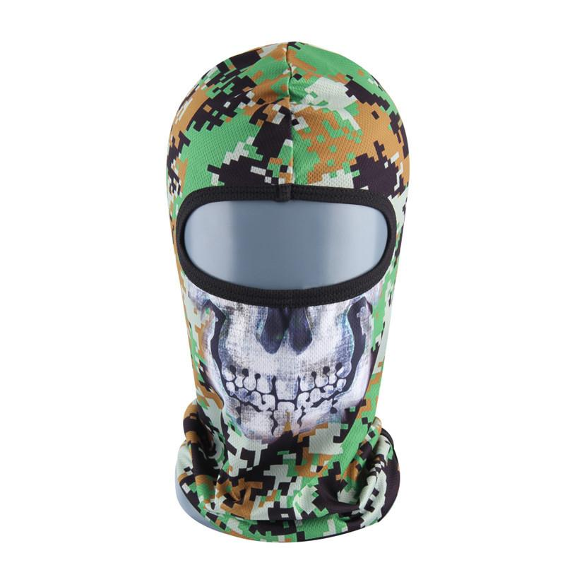 Cycling Face Mask - Head Wear | Motorcycle Neck Hood Full Face Mask