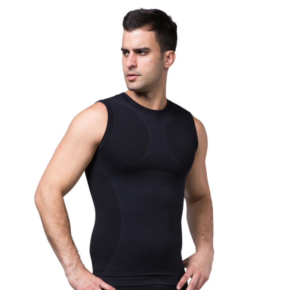 Fitness Clothing - Health Care | Mens Body Shaper Vest