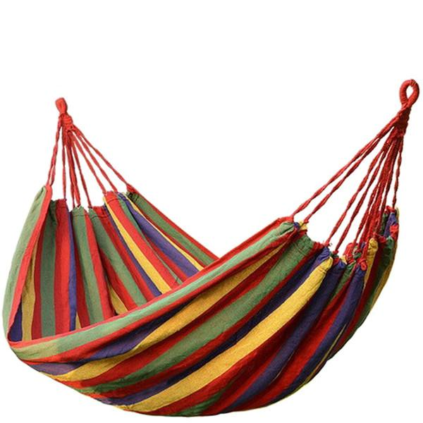 Fitness & Lifestyle - Hammock - Portable Eco Friendly Canvas Hammock Chair