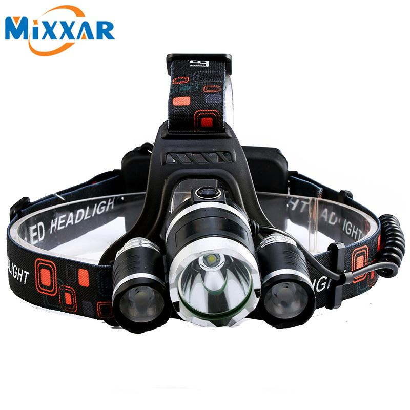 LED Headlamps - LED Headlamp Flashlight 9000Lumen