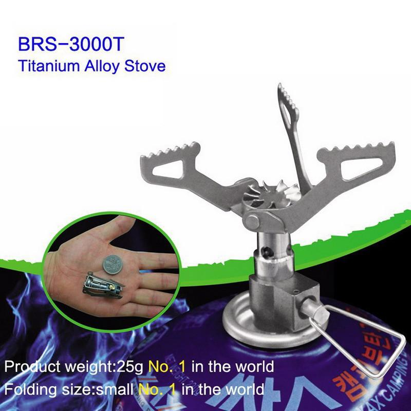 Outdoor Stoves - Camping | Outdoor Portable Titanium Camping Stove Gas Burner