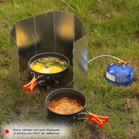 Outdoor Stoves - Camping | Stove Windshield