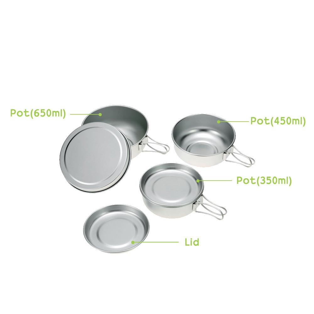 Outdoor Tablewares - Camping | Outdoor Camping Cookware Set