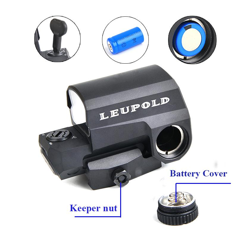 Riflescopes - Telescope | Scope | LEUPOLD  LCO Tactical Red Dot Sight Rifle Scope For Hunting