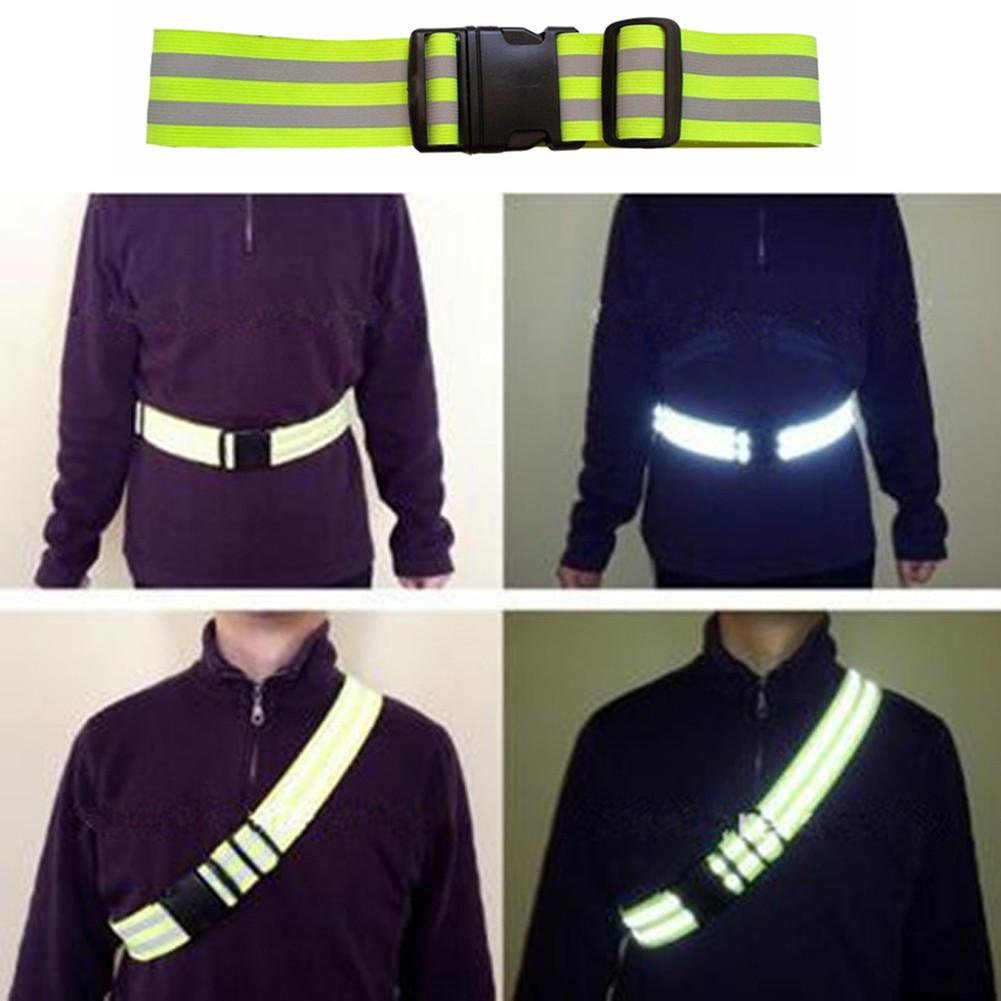 Running Vests - Safety | Reflective Safety Belt High Viz