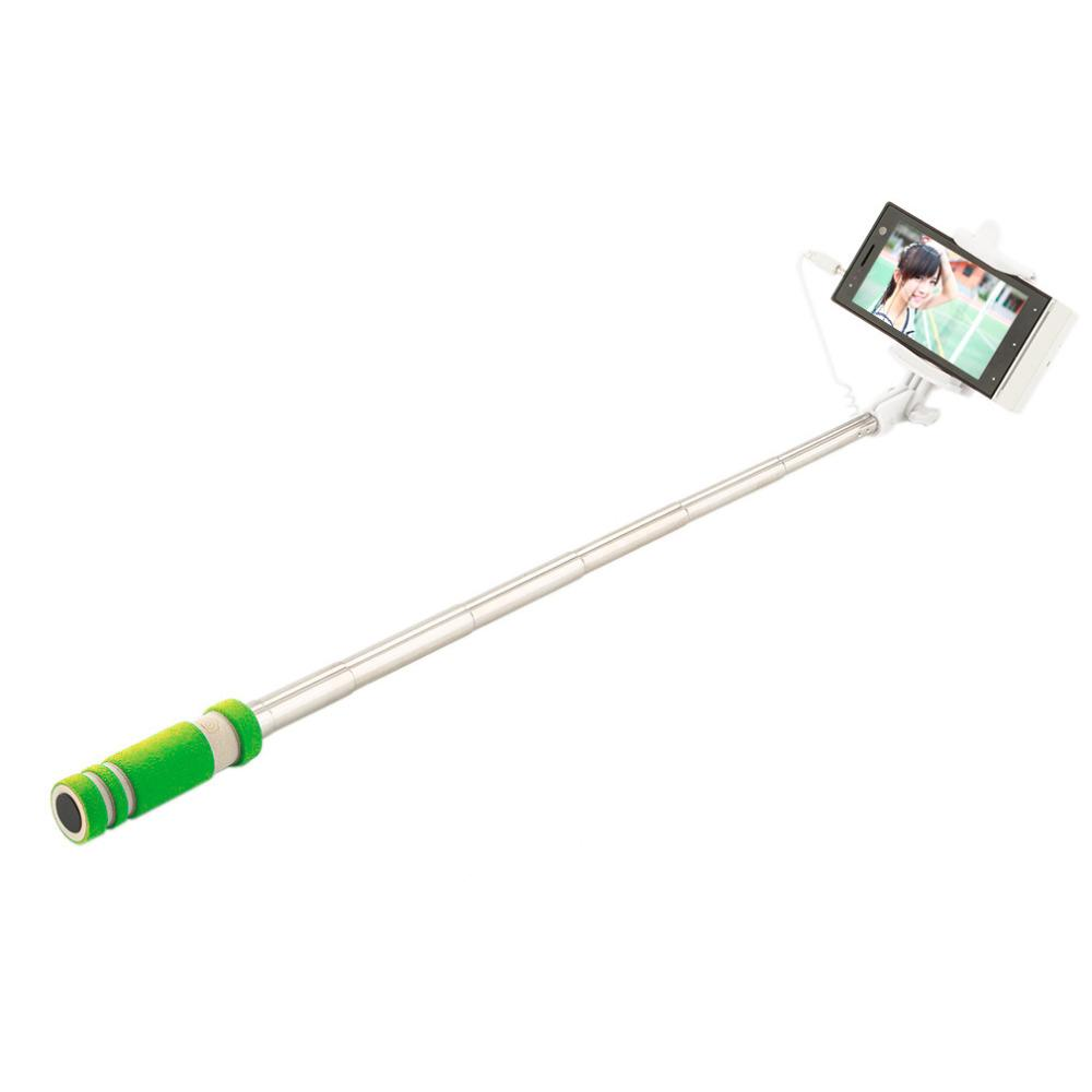 Selfie Sticks - Selfie Stick Wired Remote Shutter Monopod For All Cell Phone Brands