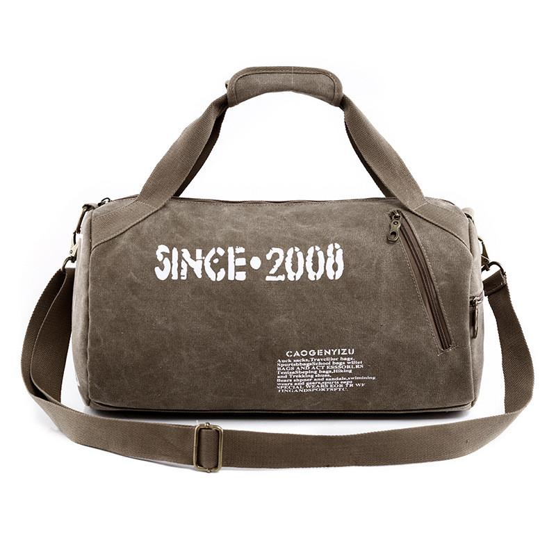 Sports Bags - Bag | Mens Outdoor Canvas Sports Gym Bag