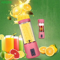 Squeezers & Reamers - Blender | Mixer | Portable USB Electric Juicer Bottle Perfect For On The Go!