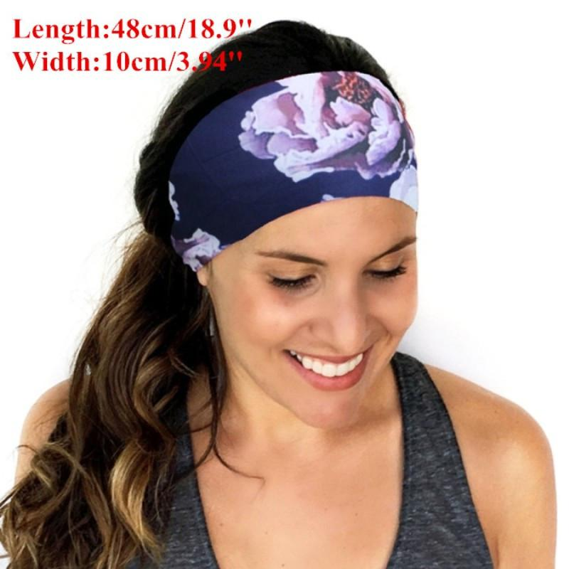 Sweatband - Head Bands | Yoga Pilates Stylish Sweat Absorbing Head Bands