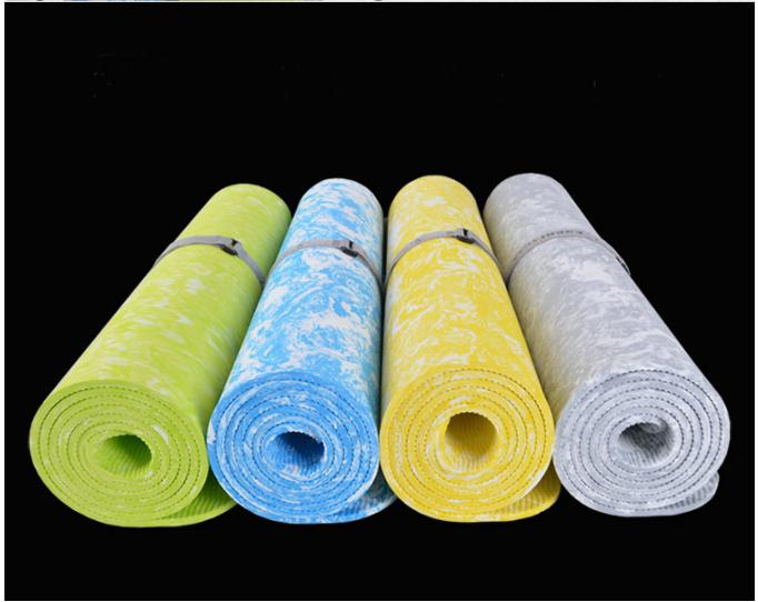 Yoga Mats - Yoga | Yoga Pilates TPE 6 Mm Non-Slip Exercise Fitness Mat