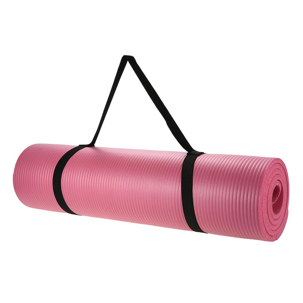 Yoga Stuff - Yoga | Yoga Pilates Exercise Mat For Beginners Extra Thick Nonslip 10mm