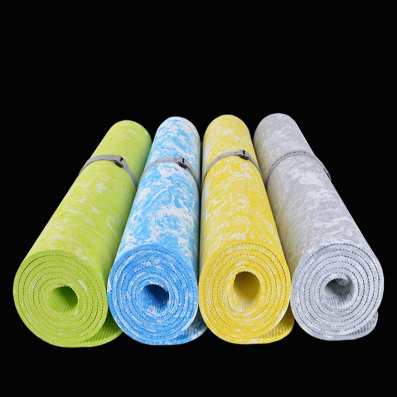 Yoga Stuff - Yoga | Yoga Pilates Patterned TPE 6 Mm Non-Slip Exercise Mat