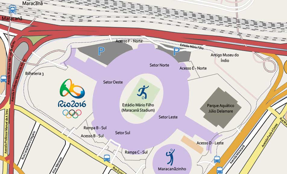 Just released: Editable Rio de Janeiro Olympic Games Map