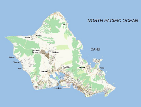 Honolulu City Map