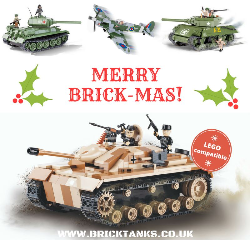 A gift with a difference: Brick Tanks & Planes + 25% discount code: XMAS25
