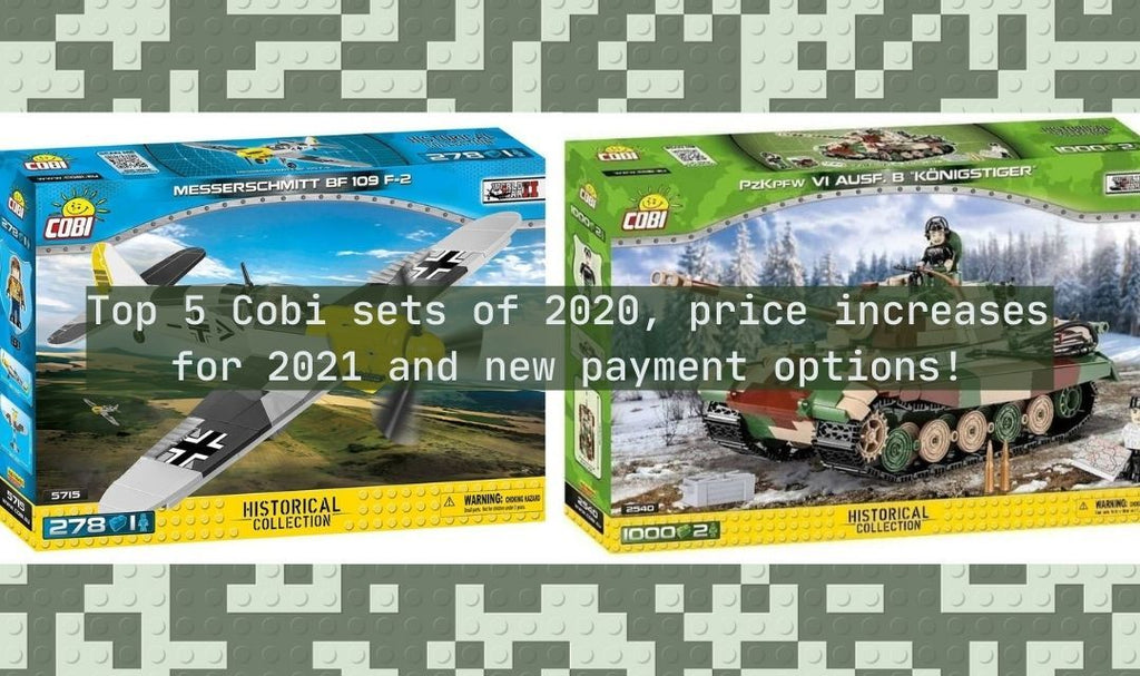 Find out which Cobi sets will cost more in 2021 before prices increase