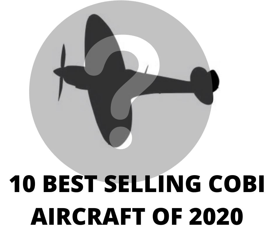 Top Ten Best Selling COBI Aircraft sets of 2020