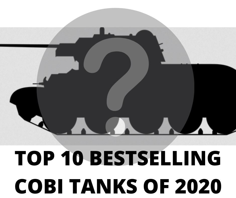 Top Ten Bestselling COBI Tank Sets of 2020