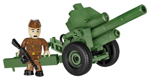 122mm Howitzer M1938 (M-30) - COBI 2395 - 72 brick artillery weapon - BRICKTANKS