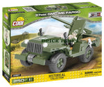 37mm GMC M6 Fargo - WW2 kit COBI 2387 - 250 brick anti-tank gun - BRICKTANKS