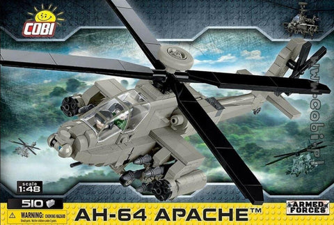 AH-64 Apache - COBI 5808 - attack helicopter - BRICKTANKS