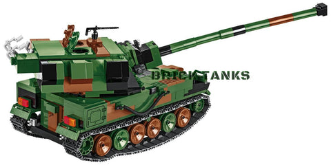 AHS Crab - Lego compatible COBI 2611 - 700 brick self-propelled gun - BRICKTANKS