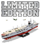 LAST ONE: Aircraft Carrier Graf Zeppelin (LIMITED EDITION) - COBI 3087 - 3145 brick aircraft carrier - BRICKTANKS