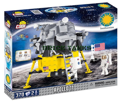 Apollo 11 Lunar Module - COBI 21079 - 370 brick spacecraft - BRICKTANKS