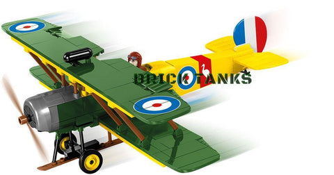 Avro 504K - Lego compatible WWI kit COBI 2977 - 230 brick fighter aircaft - BRICKTANKS