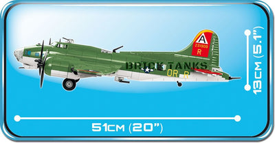 B17 Flying Fortress - COBI 5703 - 920 brick heavy bomber - BRICKTANKS