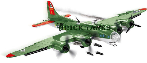 B17 Flying Fortress - Lego compatible COBI 5703 - 920 brick heavy bomber - BRICKTANKS