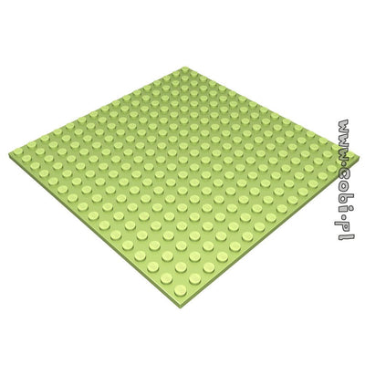 Baseplate 16x16 base - Pale green - BRICKTANKS