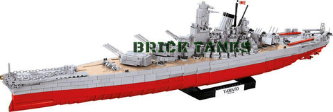 Battleship Yamato - Lego compatible COBI 4814 - 2500 brick battleship - BRICKTANKS