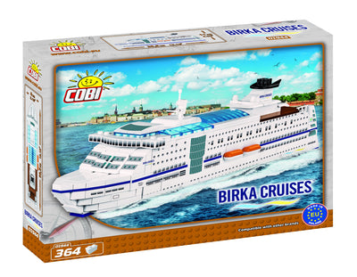 Birka Cruises - Cobi 01944 - 364 brick ferry - BRICKTANKS