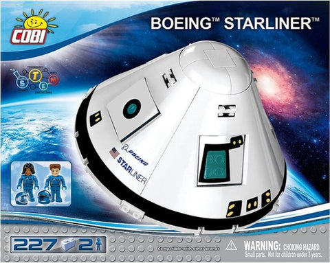 Boeing CST-100 Starliner - COBI 26263 - 227 brick spacecraft - BRICKTANKS