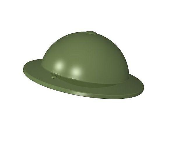 British MK II helmet green - BRICKTANKS