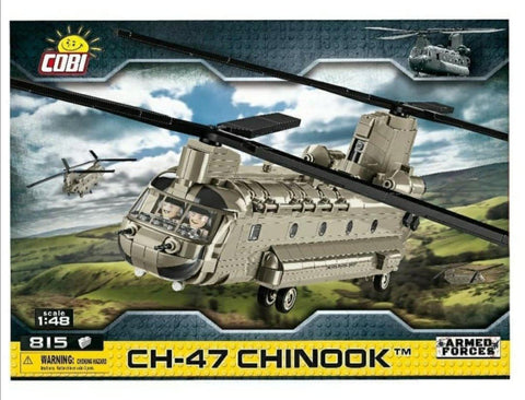 CH-47 Chinook - COBI 5807 - transport helicopter - BRICKTANKS