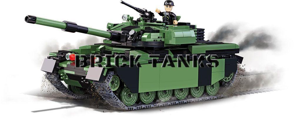 Chieftain Main Battle Tank (Bovington Tank Museum) - COBI 2494 - 620 brick battle tank - BRICKTANKS