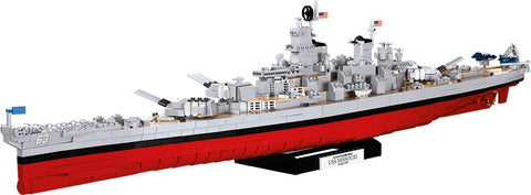 COBI USS Missouri ('World of Warships') - Lego compatible COBI 3084 - 2400 brick battleship - BRICKTANKS