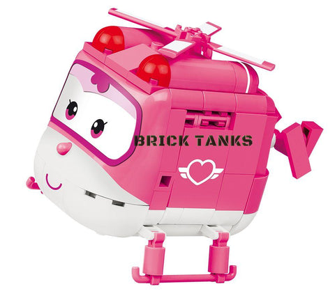 Dizzy (Super Wings!) - COBI 25123 - 210 brick Super Wings robot - BRICKTANKS