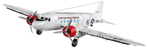 Douglas C-47 Berlin Airlift - Lego compatible COBI 5702 - 540 brick miltary transport aircraft - BRICKTANKS