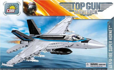 F/A-18E Super Hornet 'Top Gun: Maverick' - COBI 5805 - 580 brick fighter aircraft - BRICKTANKS
