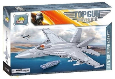 F/A-18E Super Hornet 'Top Gun: Maverick' COBI 5804 - 555 brick fighter aircraft - BRICKTANKS