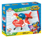 Flip (Super Wings!) - COBI 25136 - 82 brick Super Wings robot - BRICKTANKS