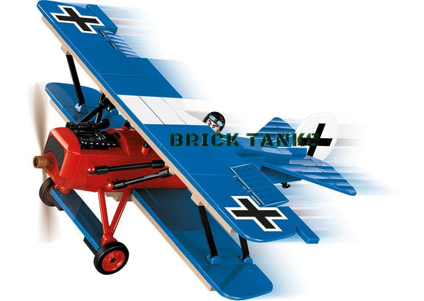 Fokker D VII - Lego compatible COBI 2978 - WWI 219 brick fighter aircaft - BRICKTANKS